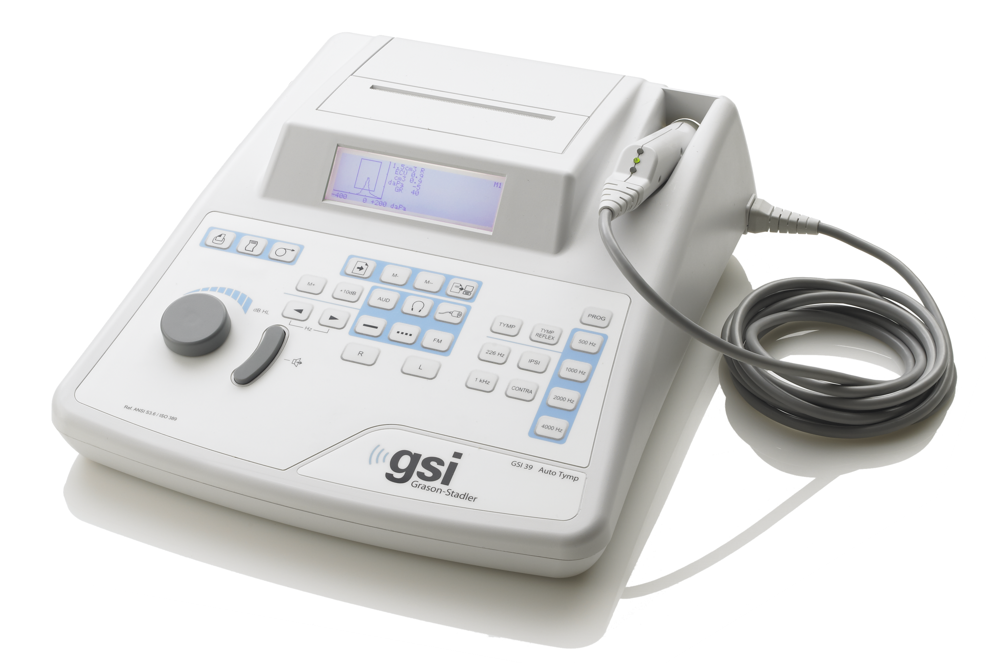 Audiometry meets tympanometry | GSI 39™