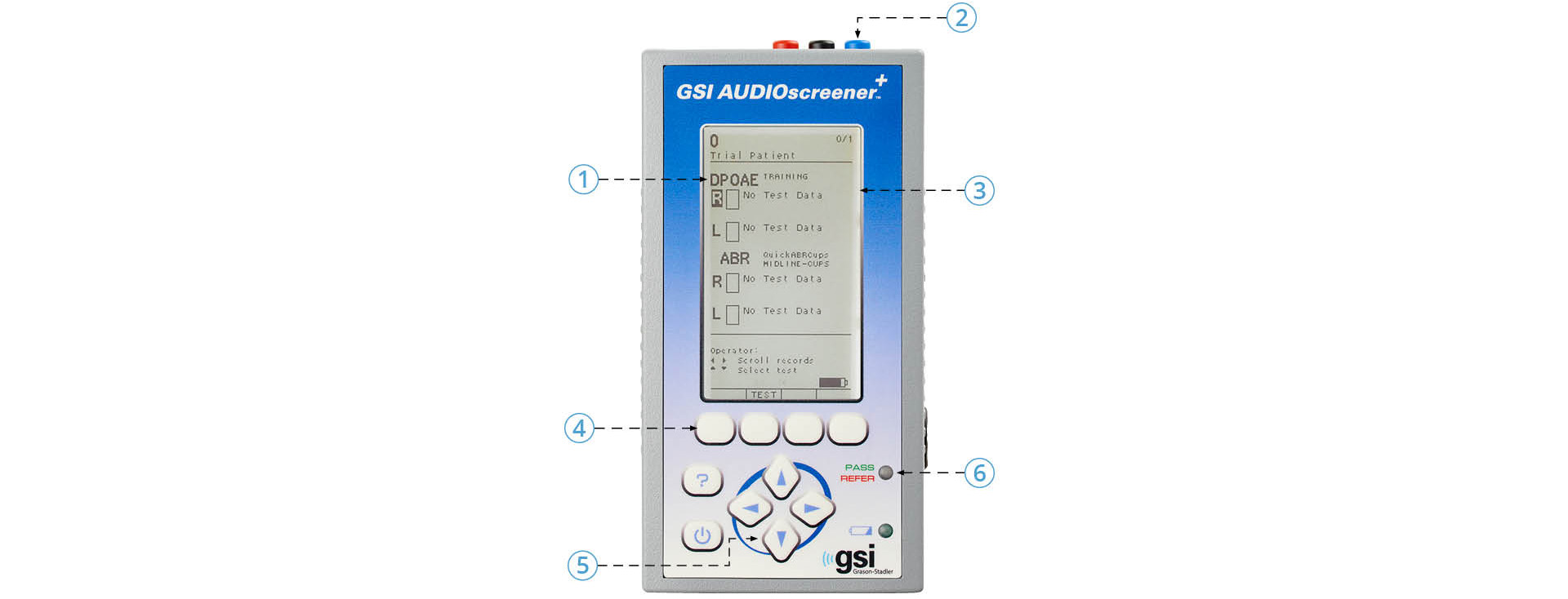 GSI Audioscreener+ Product Features