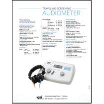 GSI 18 Portable Audiometer Data Sheet