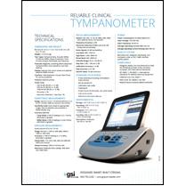 TympStar Pro Middle-Ear Analyzer Data Sheet