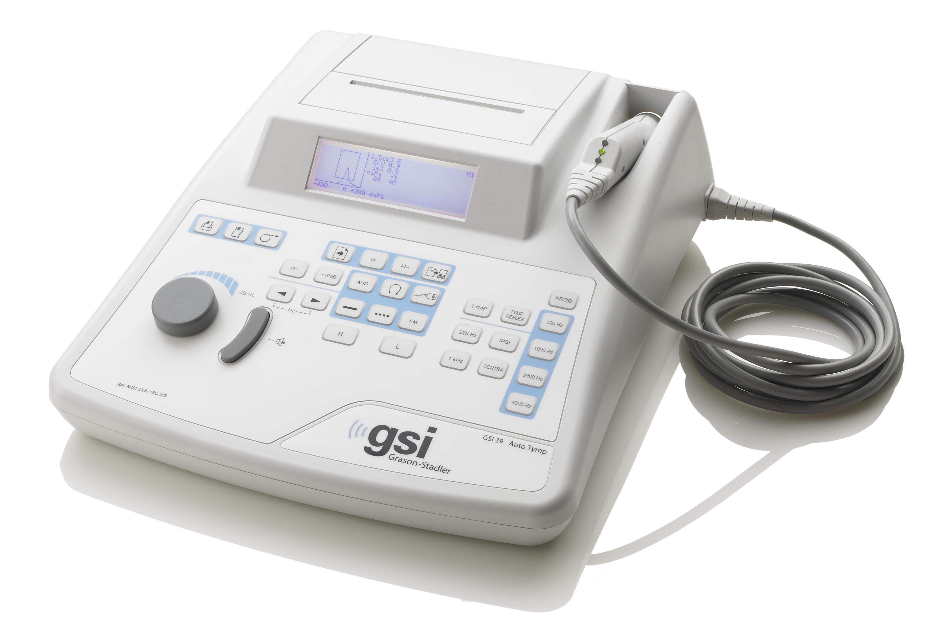 GSI 39 Portable Tympanometer Audiometer